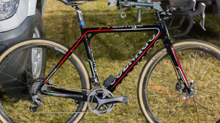 Eva Lechner's Colnago Cross Prestige Disc as raced at Crossvegas. © Cyclocross Magazine