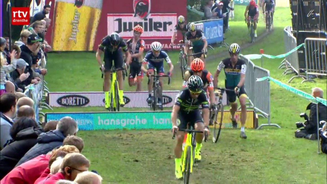 Video: 2015 Superprestige Gieten Cyclocross Race
