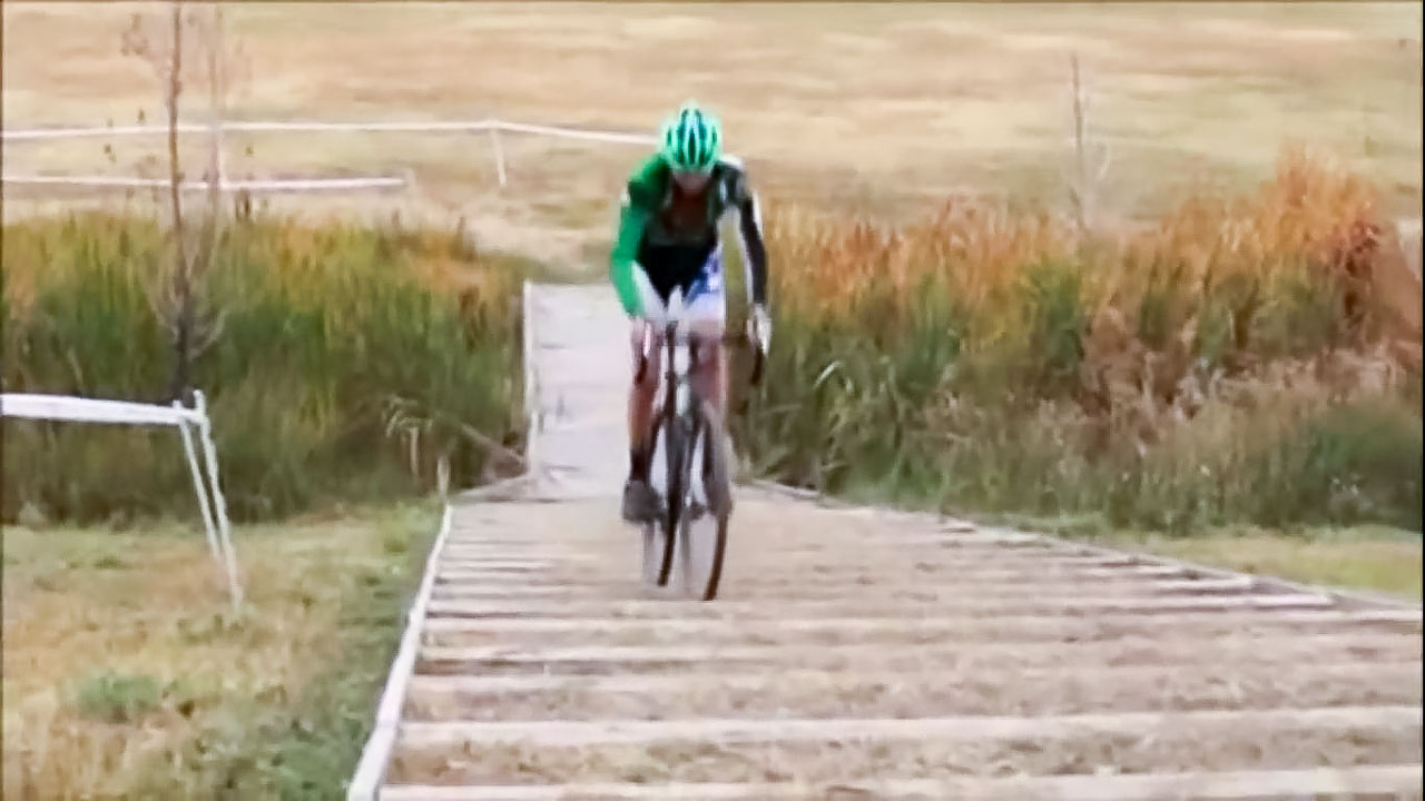 Colorado's Maxx Chance may have been the first to hop the Belgian stairs at the Valmont park in Boulder, Colorado, but when Cyclocross Magazine's...