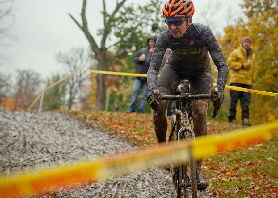 Nicki Lock (Belgianwerx) now leads the Elite Women SuperCup series. Photo by Colleen Malloy