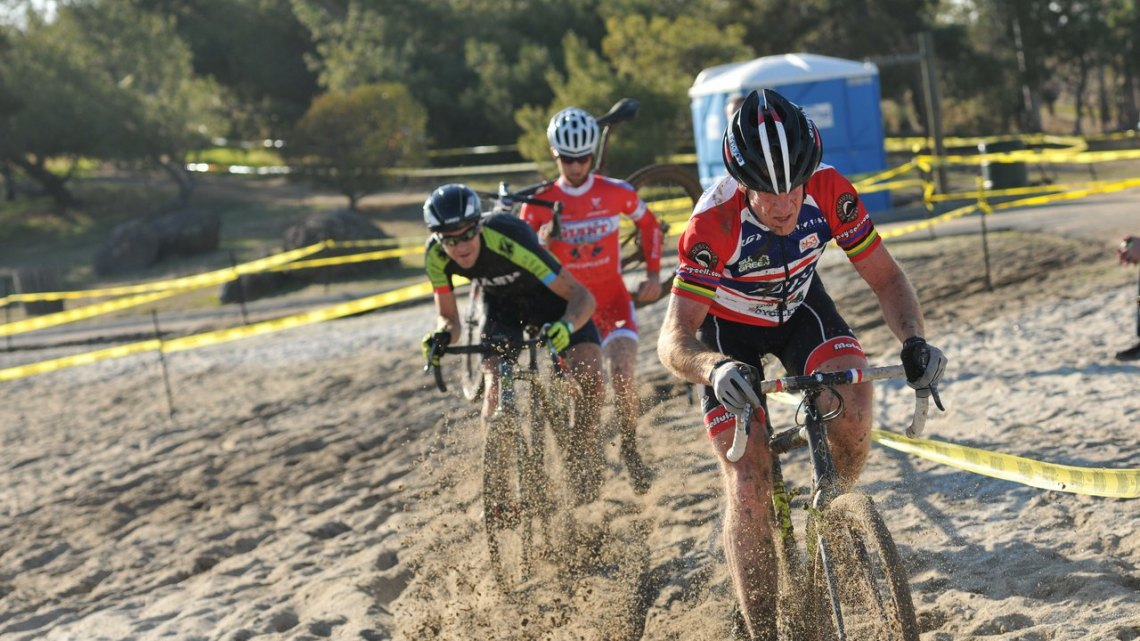 There's plenty of sand on the beaches of Lake Cunningham to test racers and welcome the Dutch. © Steve Anderson