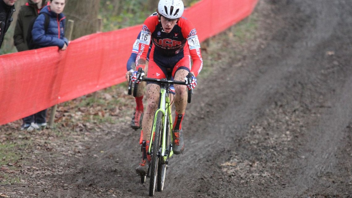 Spencer Petrov bested all but the podium at Namur. © Bart Hazen