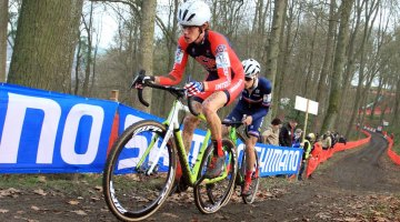 Spencer Petrov finished third in Diegem. file photo: © Bart Hazen