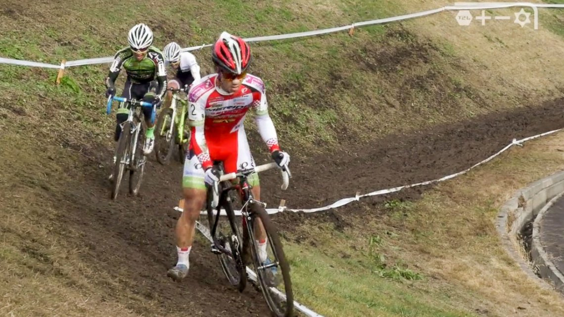 Japan's 2015 Cyclocross National Championships - Men photo: Pigmon video