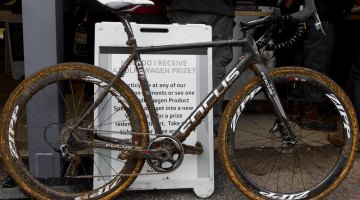 Jeremy Powers' Elite Men National Championship-winning Focus Mares CX. © Cyclocross Magazine
