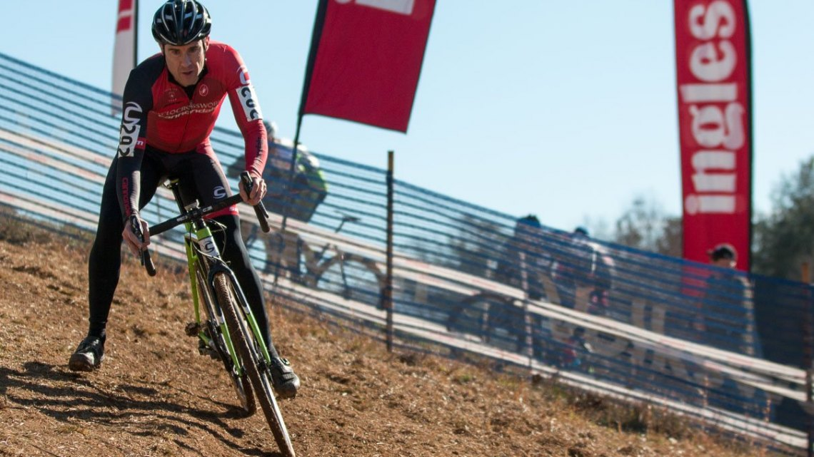 Masters 40-44. 2016 Cyclocross National Championships. © Cyclocross Magazine