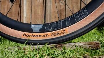The Horizon at 650 x 47c, likely provides a smooth, soft ride. Photo courtesy: WTB