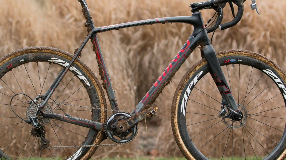 Tobin Ortenblad's 2016 Cyclocross National Championships bike. © Cyclocross Magazine