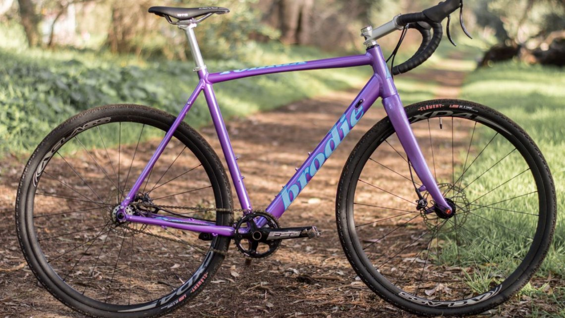 The new Brodie Bikes Romax, setup as a singlespeed. © Clifford Lee / Cyclocross Magazine