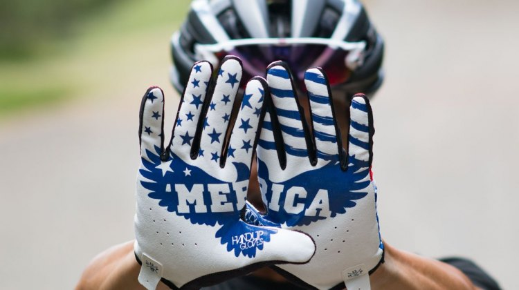 The obligatory shot of the Handup Gloves' iconic design. © Cyclocross Magazine