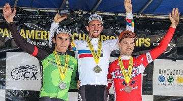 Drew Dillman is the current Pan American U23 Cyclocross Champion. photo: courtesy