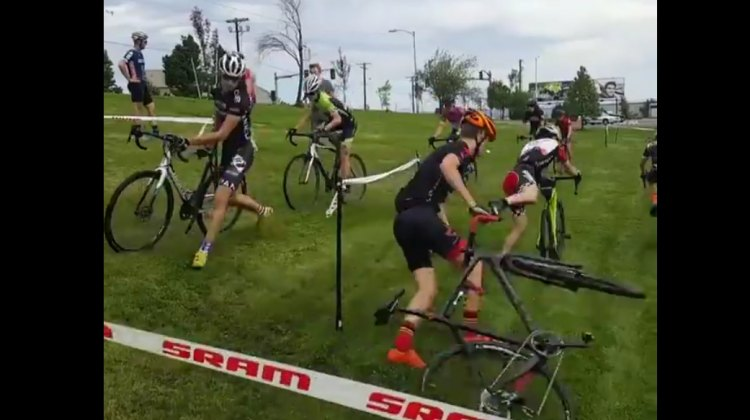 2016 Montana Cross Camp - hairpin turn drills - Geoff Proctor