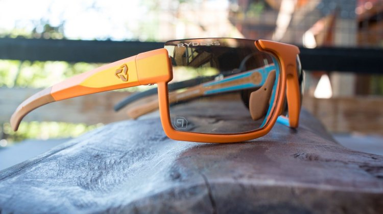One pair of shades and lenses for all cyclocross conditions and time of day? Ryders Eyewear thinks its Fyre lenses are up to the challenge. Press Camp 2016. © Cyclocross Magazine