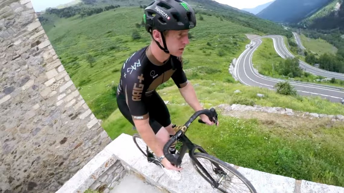 Sam Pilgrim's off-road gravel Tour de France GoPro gravel bike adventure video.