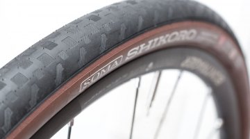 Soma Fab Shikoro 38c road/gravel tire could be a good option for mixed terrain riding that's more pavement than dirt or gravel. © Cyclocross Magazine