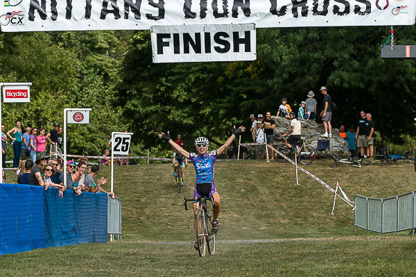 Christel Ferrier-Bruneau wins Day 1 of the 2016 11th Annual Nittany Lion Cross - Breinigsville, PA © Todd M. Leister / Leister Images