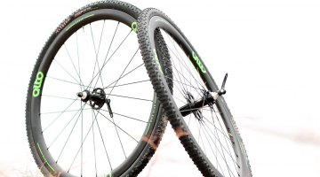 The company is also offering a carbon clincher in the CCX40, but it's not tubeless yet. Alto Cycling wheels, Interbike 2016 © Cyclocross Magazine