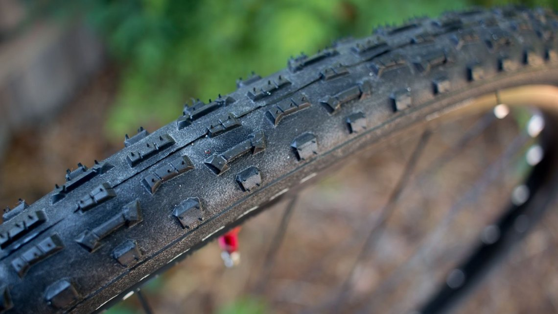 The new Panaracer Regacross 35c tubeless cyclocross tire is another nice high-volume option for the non-UCI racer. © Cyclocross Magazine