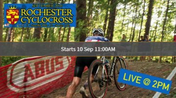 Live streaming video, Rochester Cyclocross 2016