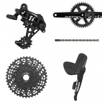 SRAM Apex 1 groupset. Win everything shown here: through our latest giveaway.