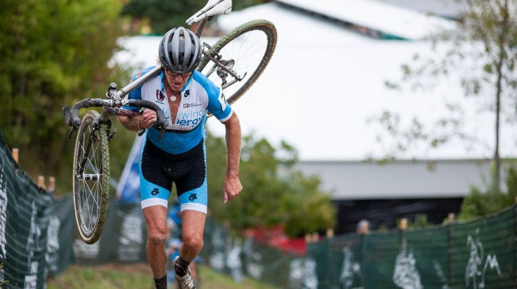 Steve Tilford raced the UCI race, but is representing the interests of Masters in his latest op-ed. 2016 Jingle Cross Day 1, Elite Men. © A. Yee / Cyclocross Magazine