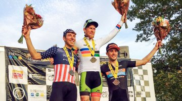 Stephen Hyde wins 2016 Pan American Cyclocross Championships over Jeremy Powers, Danny Summerhill
