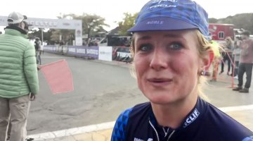 Interview: Ellen Noble after her first Gloucester pro win.