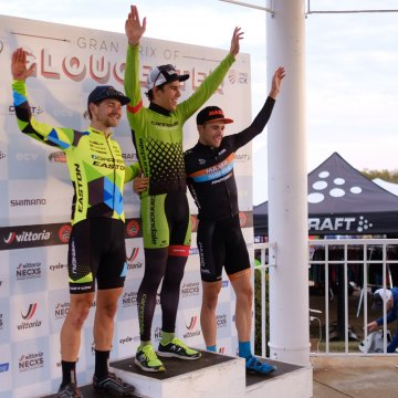 Curtis White took the win again on Day 2 of the 2016 GP of Gloucester beating out Michael van den Ham and Danny Summerhill.