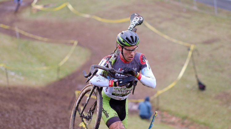 Curtis White was not to be denied on Day 2 of the 2016 Supercross Cup. © Chris McIntosh