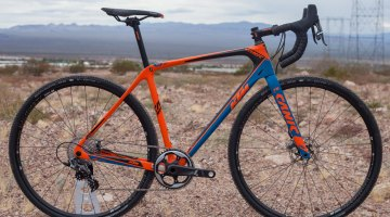 The KTM Canic CXC 11 has a high modulus carbon frame, carbon fork and a price of $4,895 USD. © Cyclocross Magazine