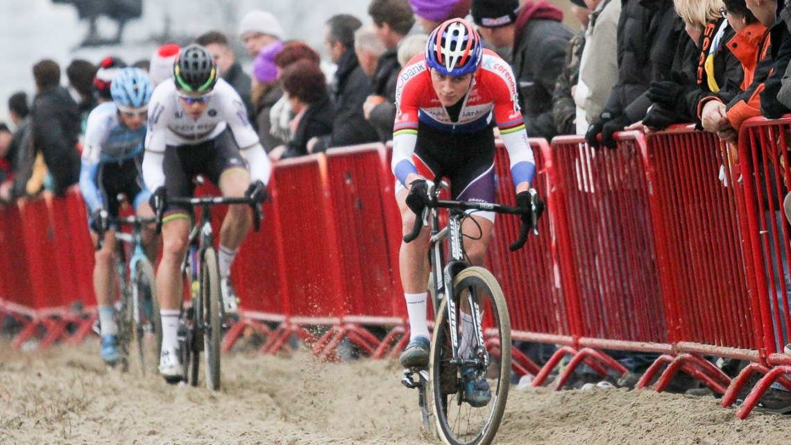 Elite Men, 2016 Soudal Scheldecross in Antwerp. © B. Hazen / Cyclocross Magazine