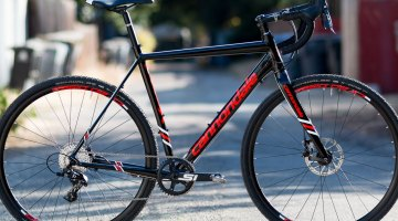 2017 Cannondale CAADX Apex 1 cyclocross bike. © Cyclocross Magazine
