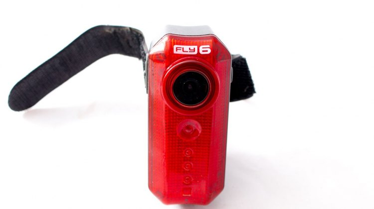 Cycliq Fly 6 rear bike light and camera. © Cyclocross Magazine