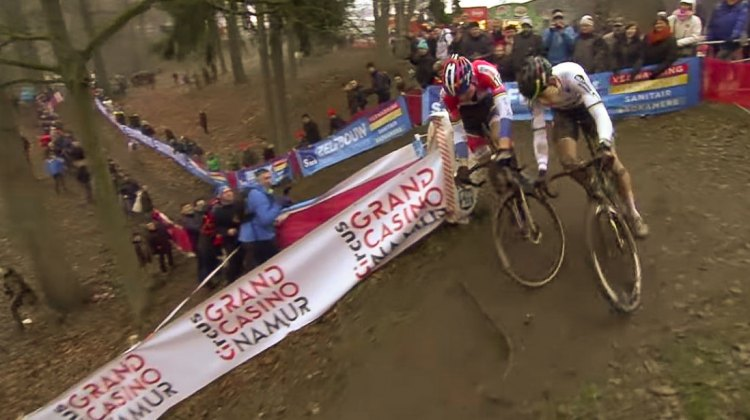 2016 Namur World Cup delivered an epic battle betwen Wout van Aert and Mathieu van der Poel