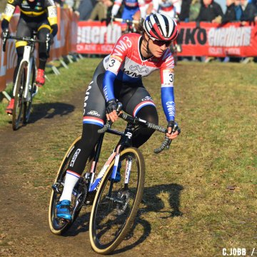 Marianne Vos 2017 Hoogerheide World Cup Elite Women. © C. Jobb / Cyclocross Magazine