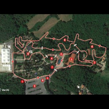 2017 Fiuggi, Italy Cyclocross World Cup course