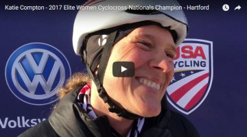 Katie Compton interview video - 2017 Cyclocross Nationals