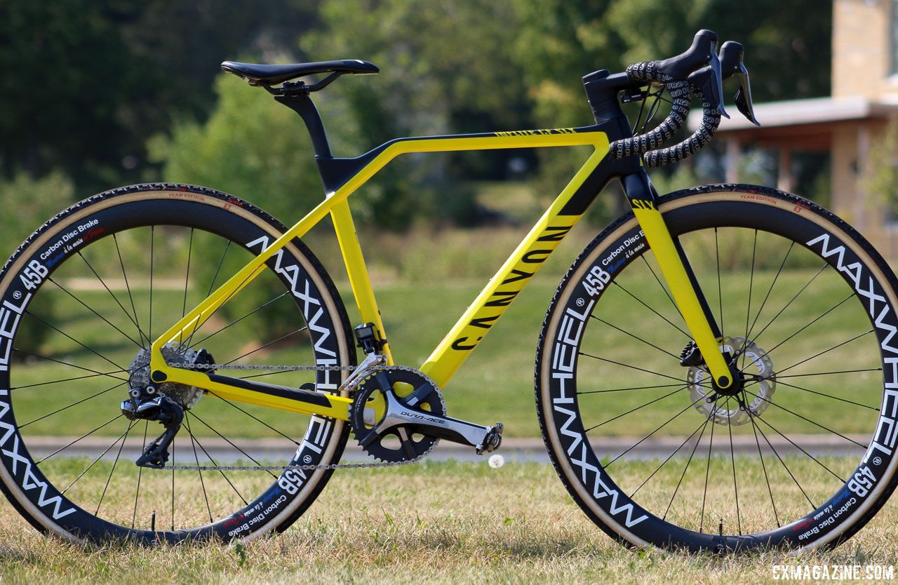 In Review: Canyon Inflite CF SLX 9.0 Cyclocross Bike