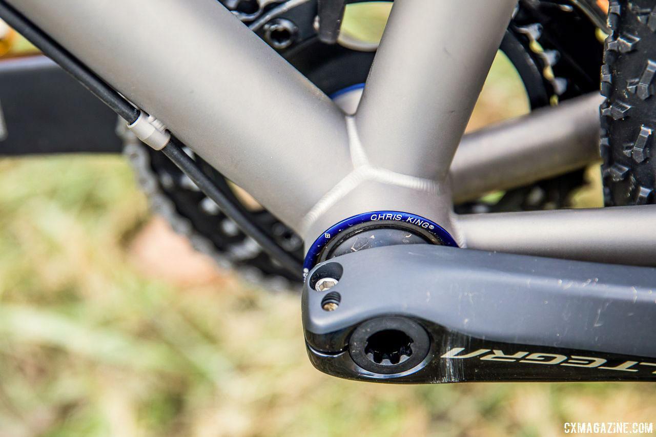 Pro Bike Profile: Gage Hecht's U23 Pan-Ams-Winning Titanium Moots Pschlo X RSL