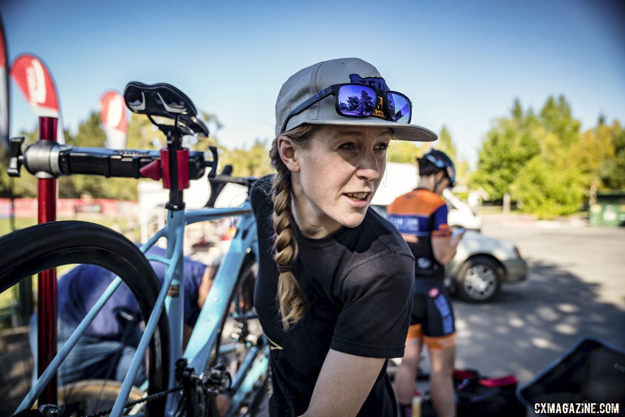 Mechanic, Manager, Planner, Brenna Wrye-Simpson Helps Team S&M CX Run Smoothly