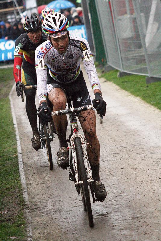 Albert showed his strength but couldn't match Nys' skills in the mud. 2009 Azencross - Loenhout GVA Trofee Series. ? Bart Hazen
