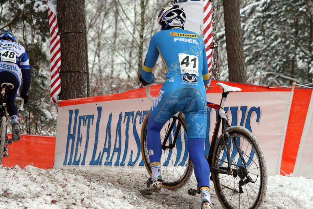Fidea's Robert Gavenda. Kalmthout 2009 Cyclocross World Cup.