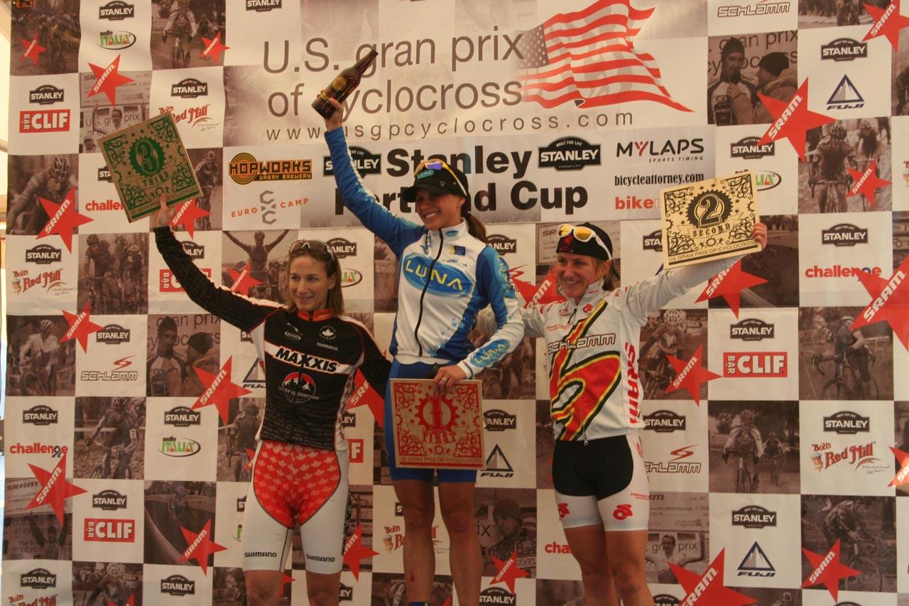 Women\'s podium ? Josh Liberles