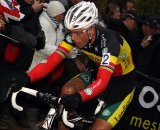 Sven Nys rode cleanly through the conditions to take the win. © Bart Hazen