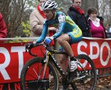 Gabby Day races through Asper-Gavere. © Bart Hazen