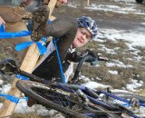 The course was challenging with a mix of snow and mud. Cyclocross Nationals Day 2 © Janet Hill