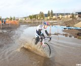 A rider gets his mud on. © Cyclocross Magazine