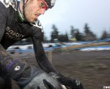 Ryan Weaver tears through the course. © Cyclocross Magazine