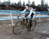 Traction and unobscured vision were rare commodities in the mud. © Cyclocross Magazine