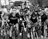 The Keough brothers and Gougen take to the  front. U23 Race, 2010 Cyclocross National Championships © Joe Sales